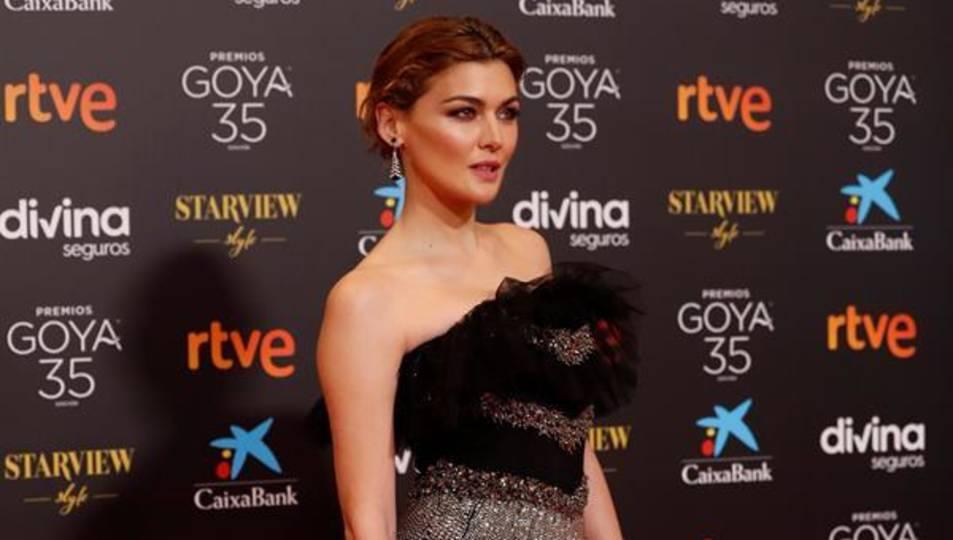 L'actriu Marta Nieto a la gala dels Goya.