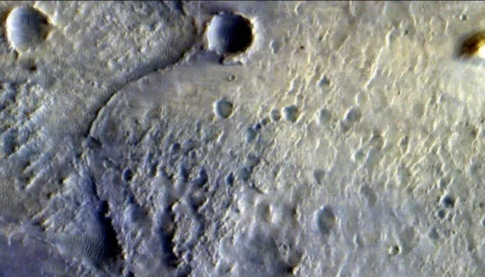 Lloc d'aterratge del rover Perseverance en Mart.
