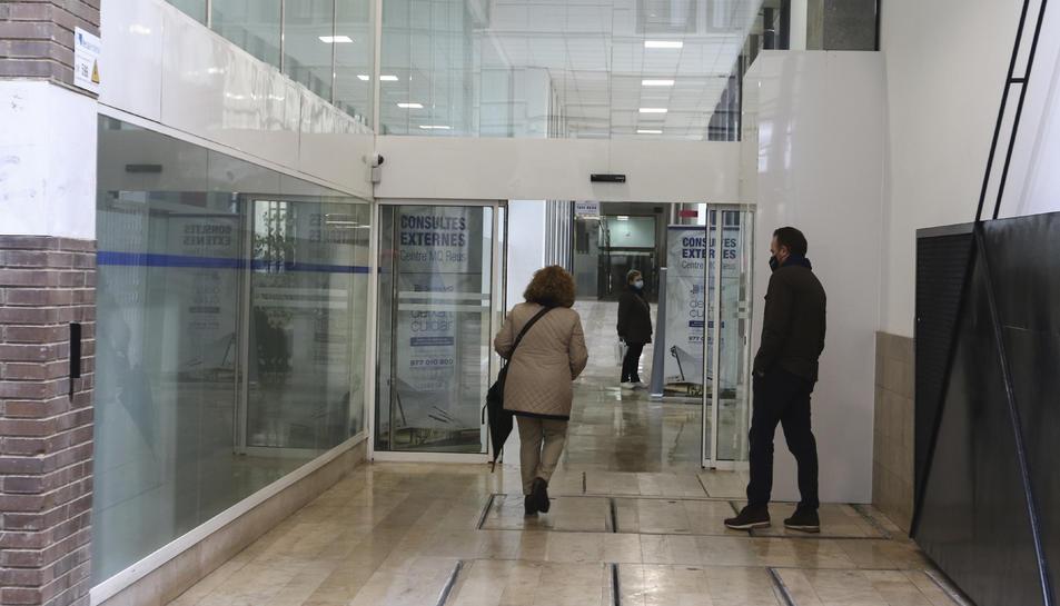 Una imatge d'arxiu de l'accés al Centre MQ.