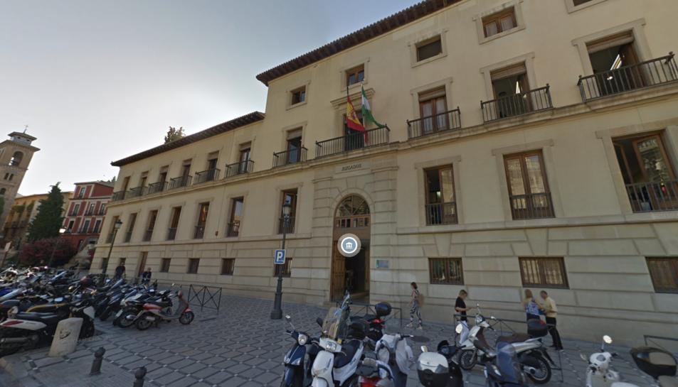 Imatge de l'Audiència de Granada.