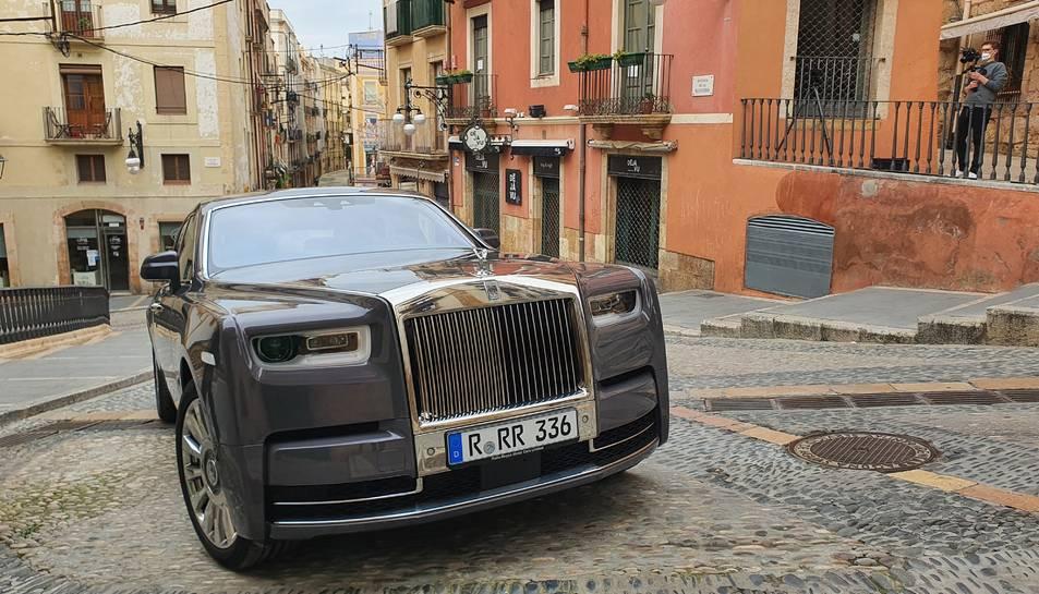 imatge del making of de la campanya de Rolls Royce a Tarragona