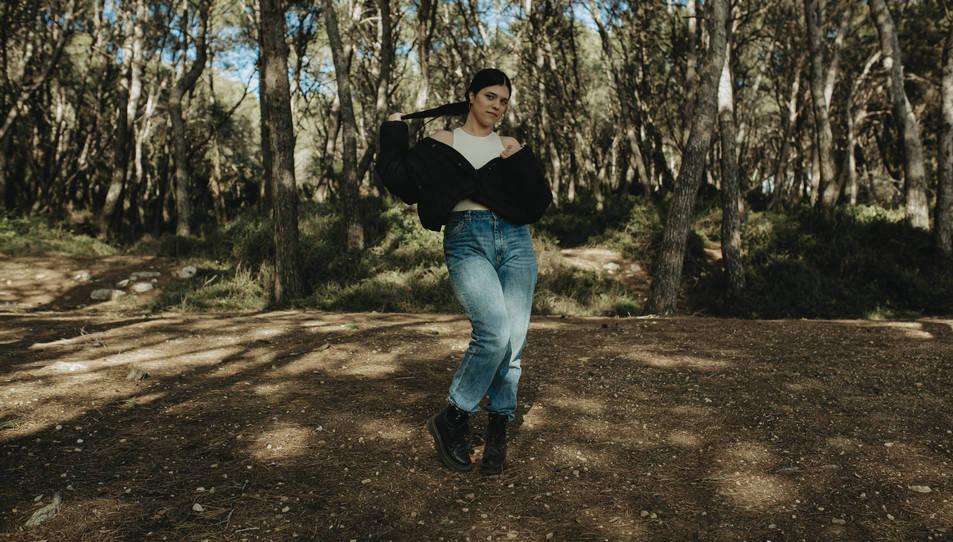 Un instant del nou videoclip de Maria Moss 'Superwoman'.