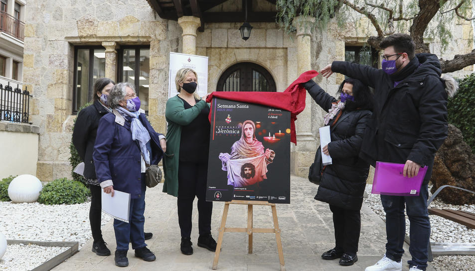 Ahir va destapar-se el cartell de 'La Verònica del segle XXI'.
