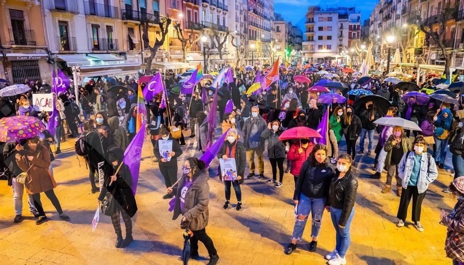 Manifestación por el 8-M en Tarragona