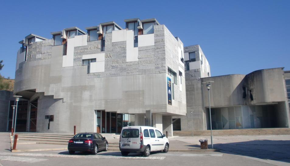 Imatge del rectorat de la Universitat de Vigo
