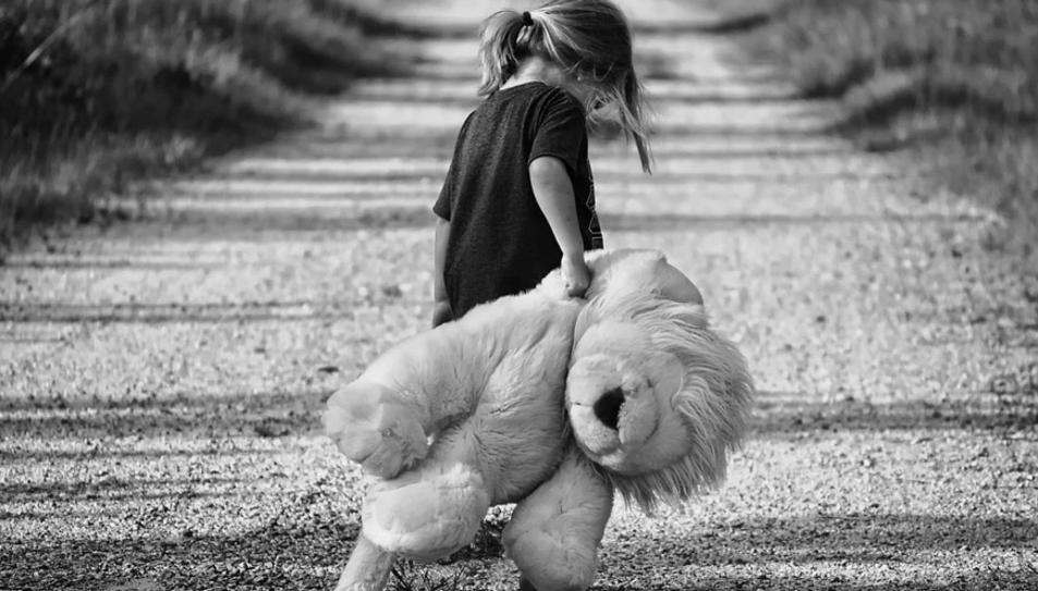 Imatge d'arxiu d'una nena.
