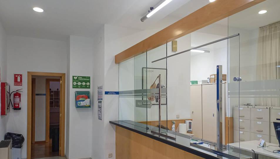 Imatge de l'interior de l'Escola i Conservatori de Música a Reus.