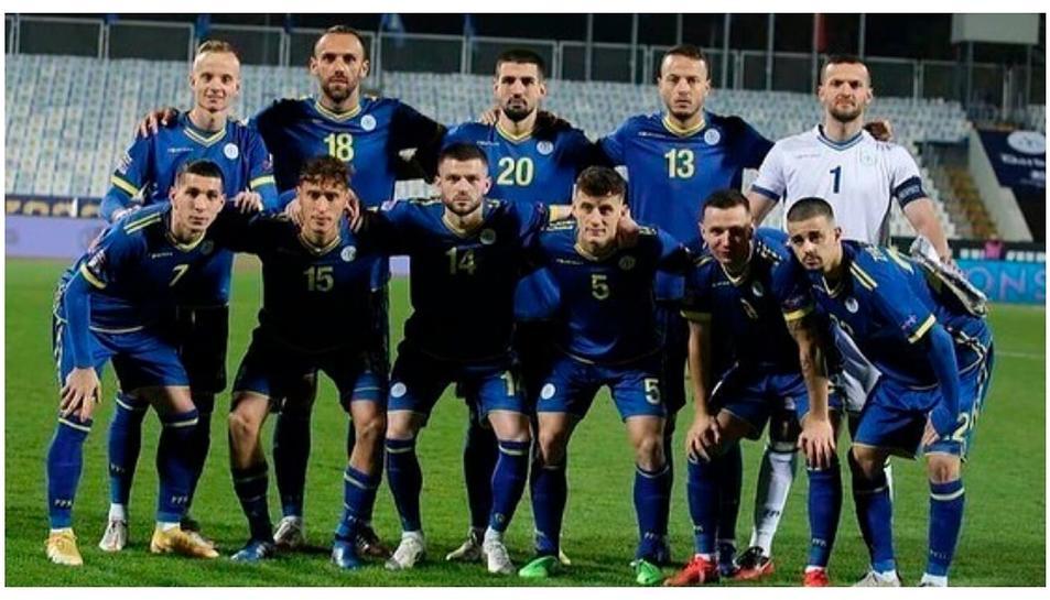 Un onze de Kosovo.
