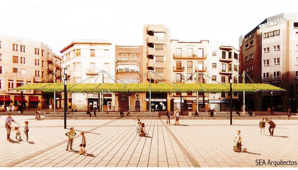 Recreació virtual del projecte 'Umbracle' de l'estudi SEA Arquitectos SLP.