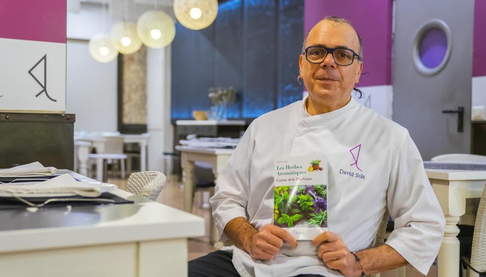 David Solé, escriptor i cuiner del restaurant Barquet, aquest dijous.