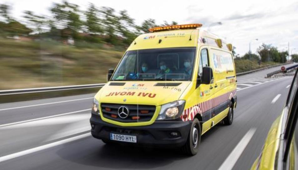 Una ambulància a Almeria.
