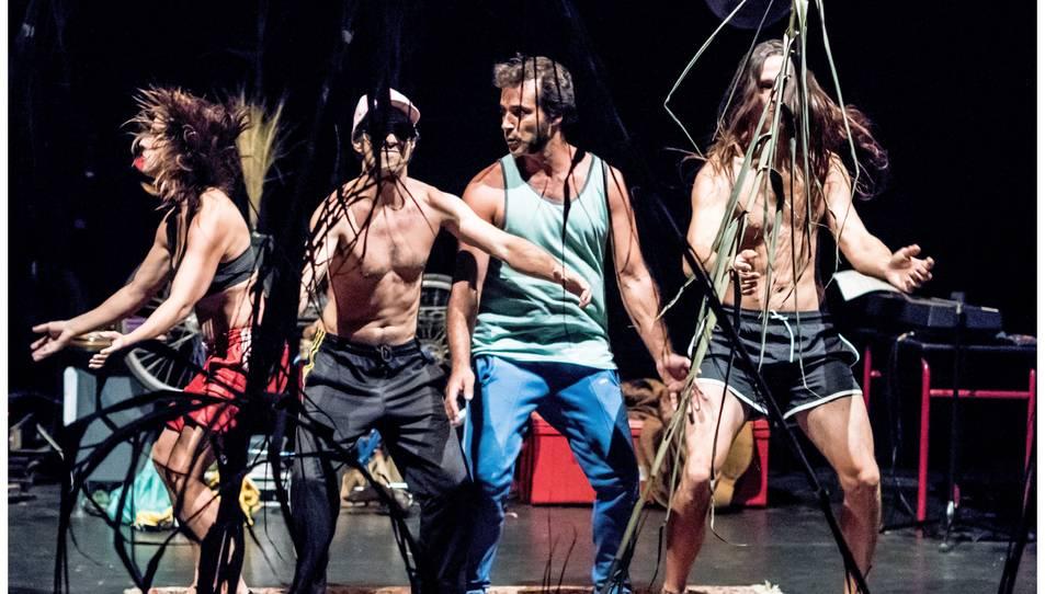 Imatge de l'espectacle 'Després de tot' de la companyia Psirc.