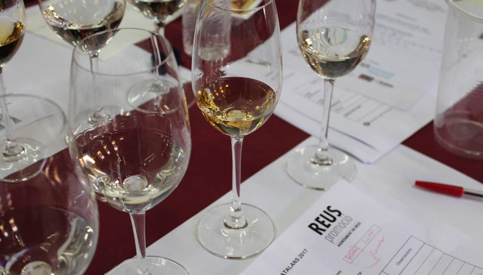 Imatge d'arxiu dels Premis Vinari a Reus.