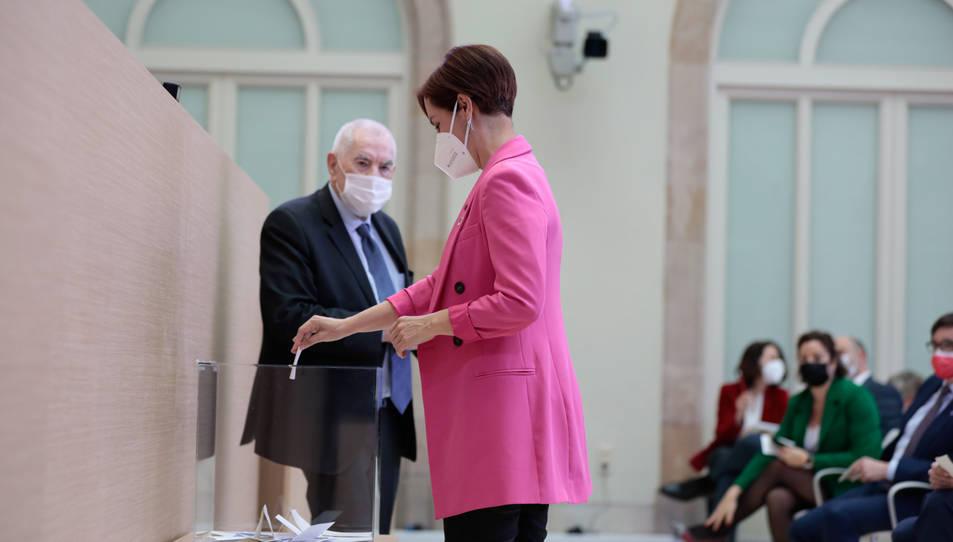 LA diputada electa d'ERC Anna Caula ocuprà la primera vicepresidència de la Mesa.