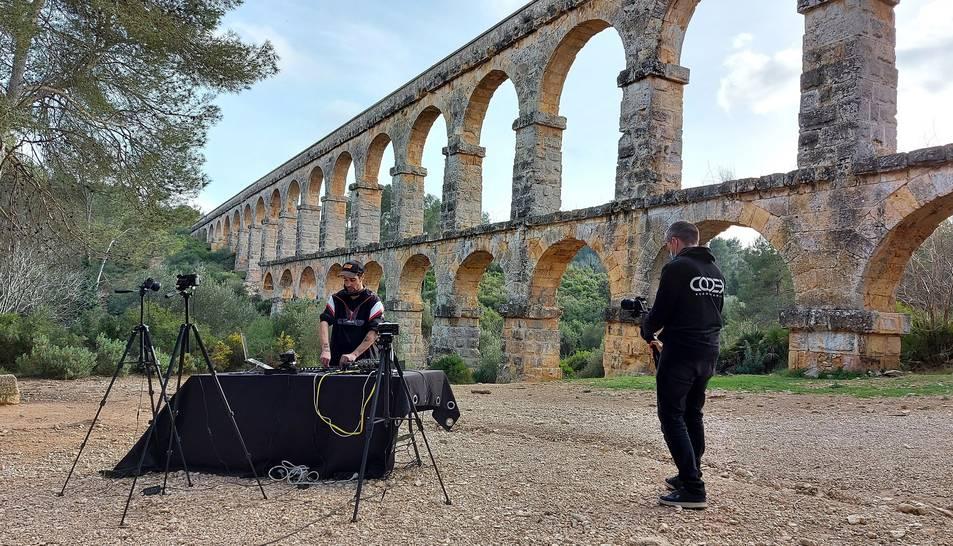 'Making of' de 'Tarragona és Techno' de Dj Spektral.