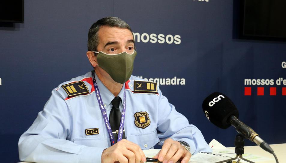 El portaveu dels Mosssos, Joan Carles Molinero.