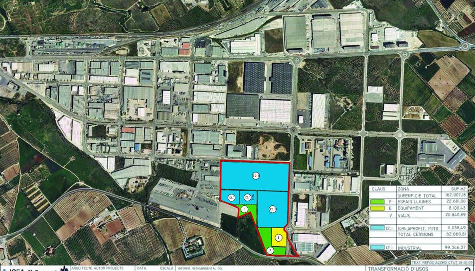 Imatge dels terrenys.