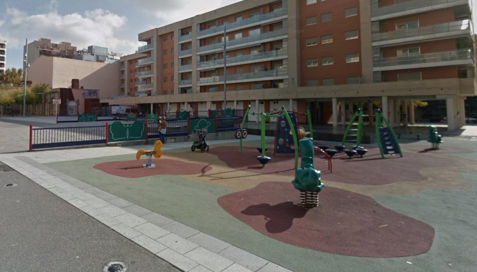 Imatge de la plaça de la Cultura de Reus.