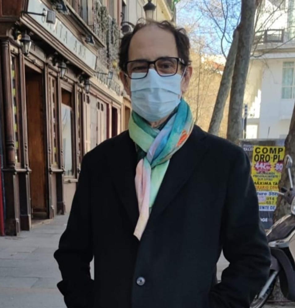 Jordi Sánchez, després de sortir de l'hospital.