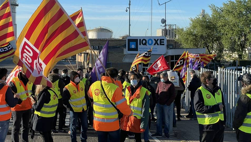 La mobilització a les portes de les instal·lacions s'ha fet entre les 7 i les 10 hores.
