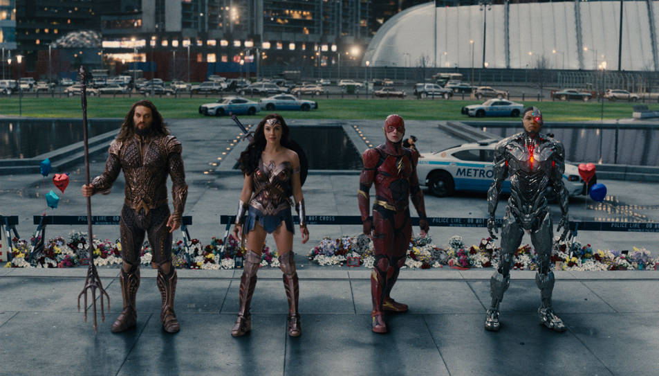 Imatge del film del director Zack Snyder 'La liga de la justícia'.