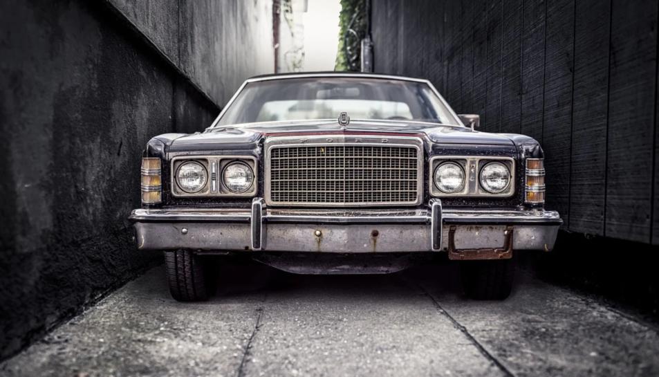 Un Ford antic.