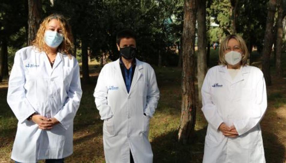 Imatge de les responsables del Servei de Reumatología de l'hospital Universitario Vall d'Hebron