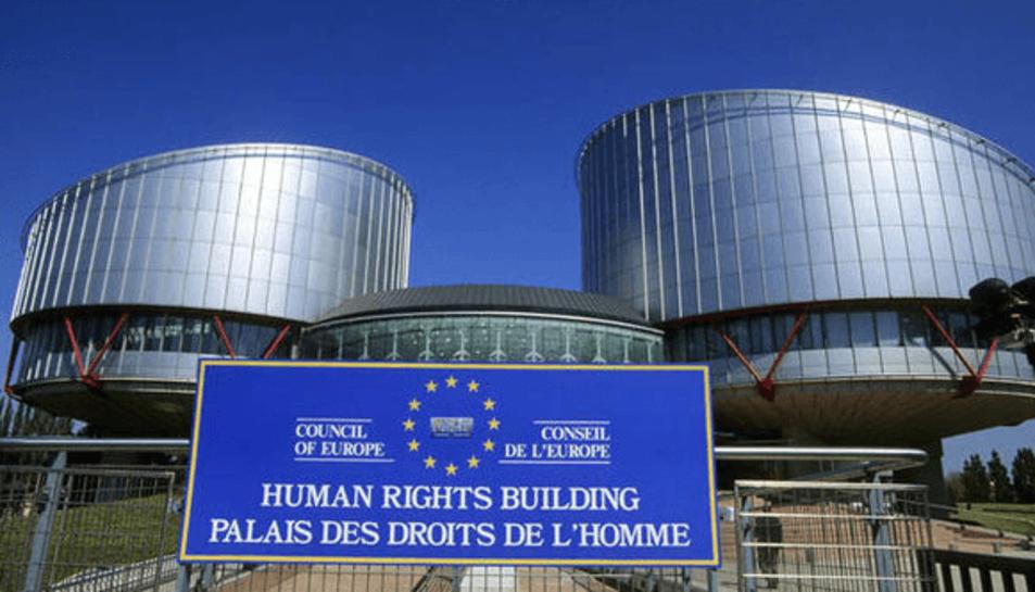 Imatge d'arxiu de la seu de la Cort Europea dels Drets de l'Home