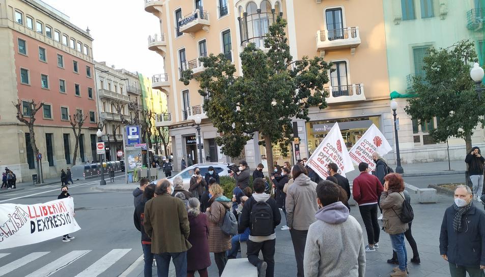 Nova jornada de protestes a Tarragona reclamant la llibertat de Pablo Hasel