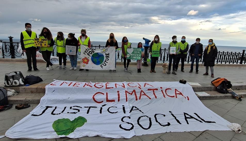 Fridays For Future es concentra a Tarragona per reivindicar la lluita ecologista