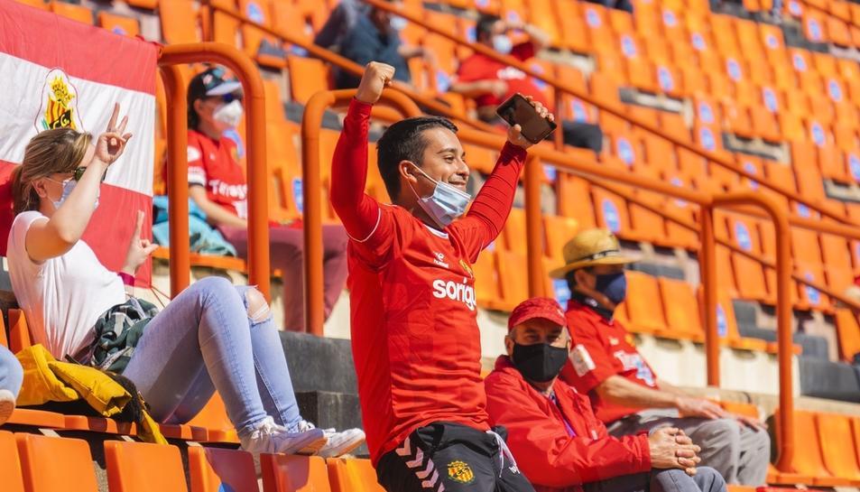 L'afició durant el Nàstic-Espanyol B (2)