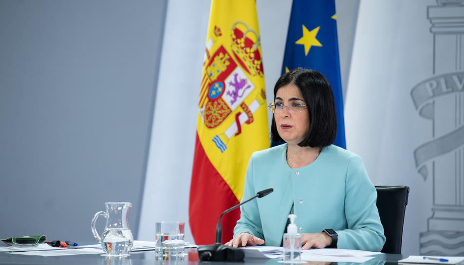 La ministra de Sanitat, Carolina Darias.