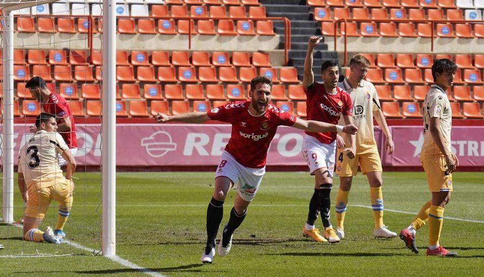 Tienza celebra el gol