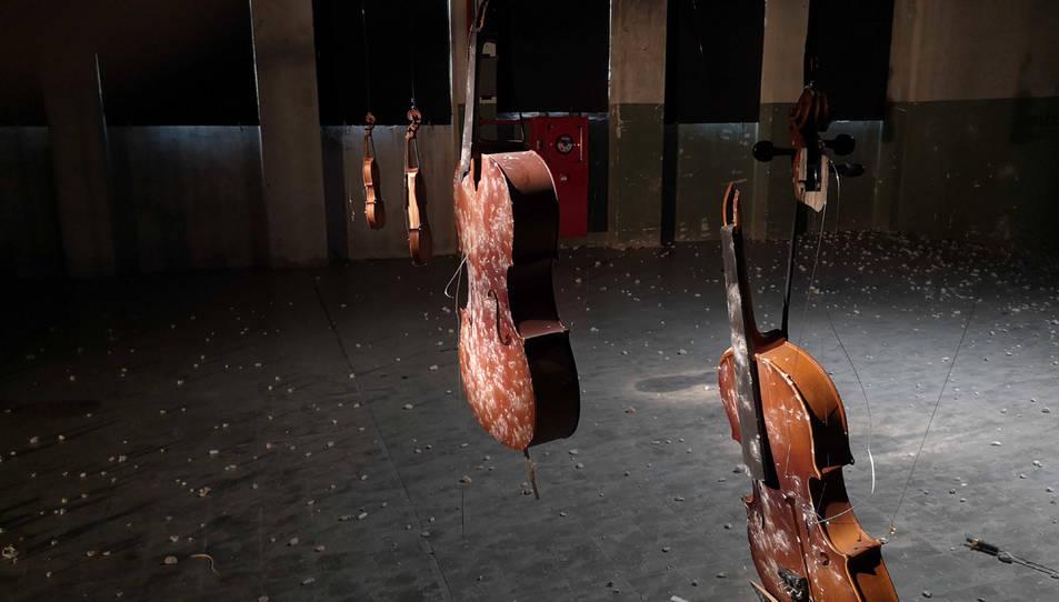 Imatge promocional de la instal·lació que Cabosanroque portarà al Centre d'Art lo Pati durant Eufònic 2020.
