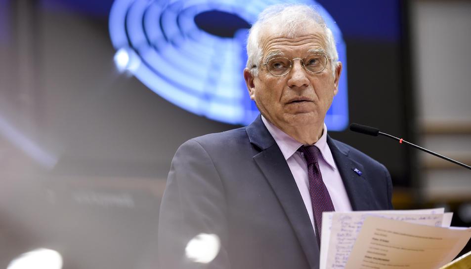 Pla mitjà de l'Alt Representant de la UE, Josep Borrell.