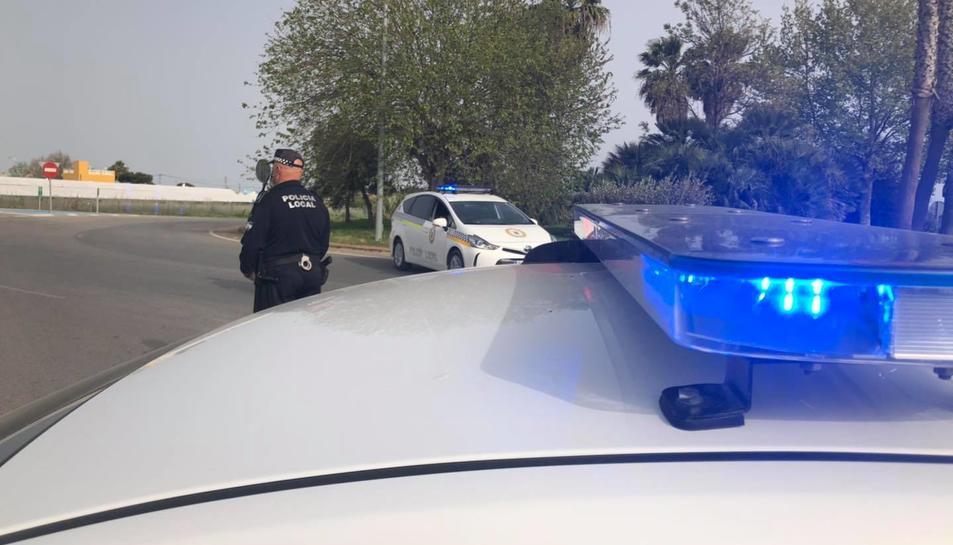Imatge d'arxiu d'un servei de la Policia Local de Chipiona.