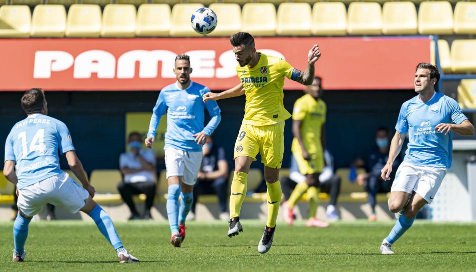 L'últim partit de lliga del filial groguet va ser contra l'Ibiza i van caure derrotats 0-3.