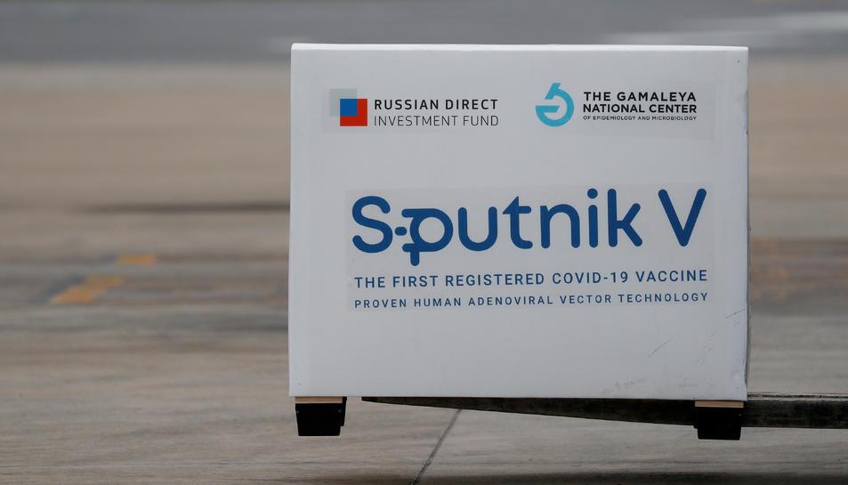 Enviament de dosis de la vacuna Sputnik V (Gam-COVID-Vac) , a Buenos Aires, Argentina.