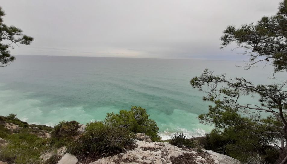 Imatge del litoral des de la zona de la Talaia a Salou.