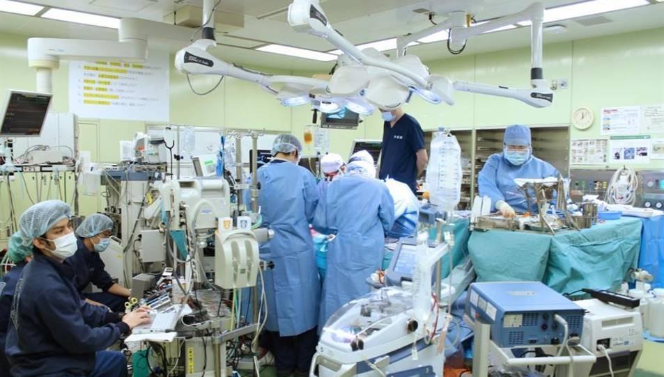 Moment de l'operació.