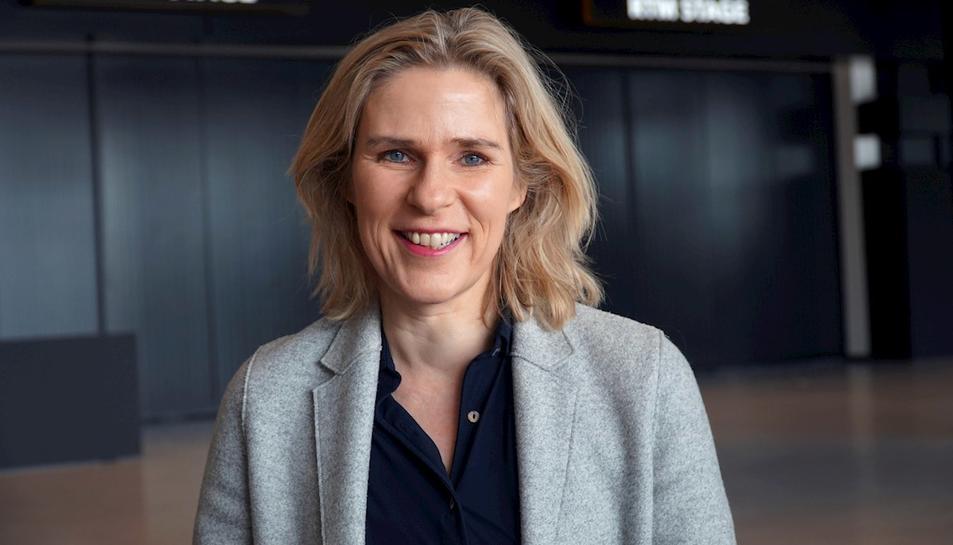 La directora de l'Ahoy, Jolanda Jansen.