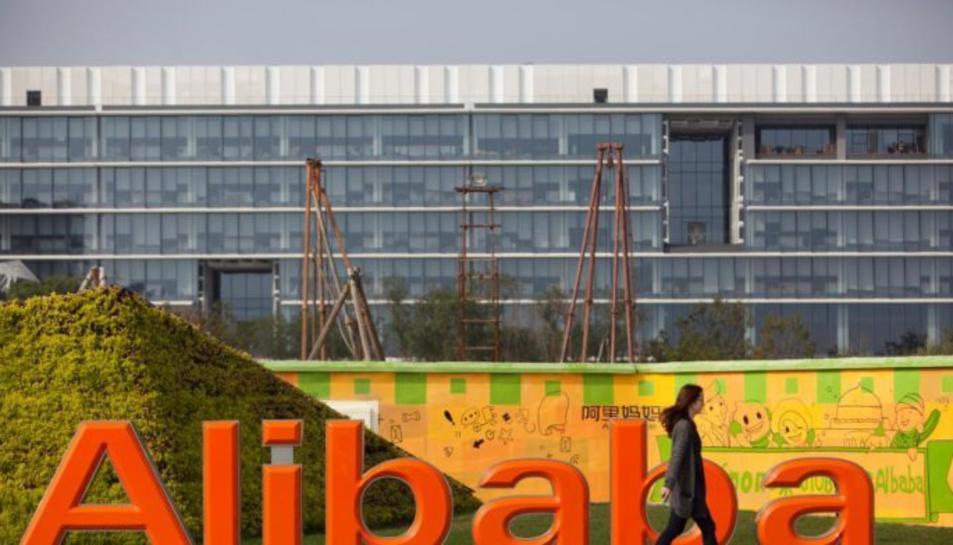 El grup xinès, propietaris d'AliExpress, Alibaba.