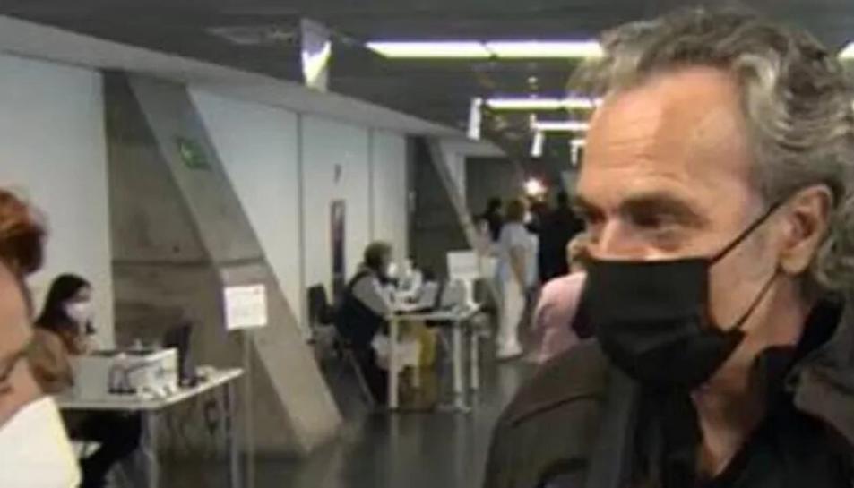 José Coronado atenent a TVE.