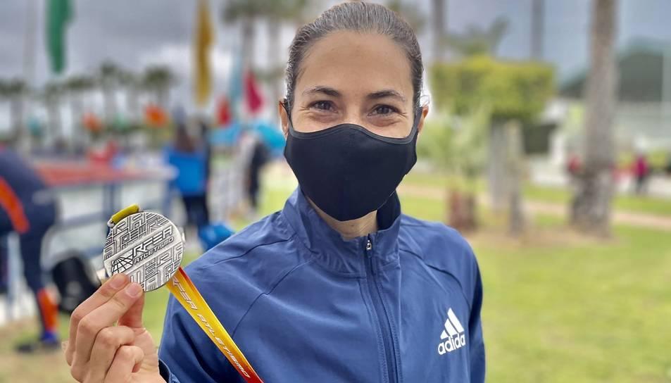 L'atleta de Valls, Marta Galimany.