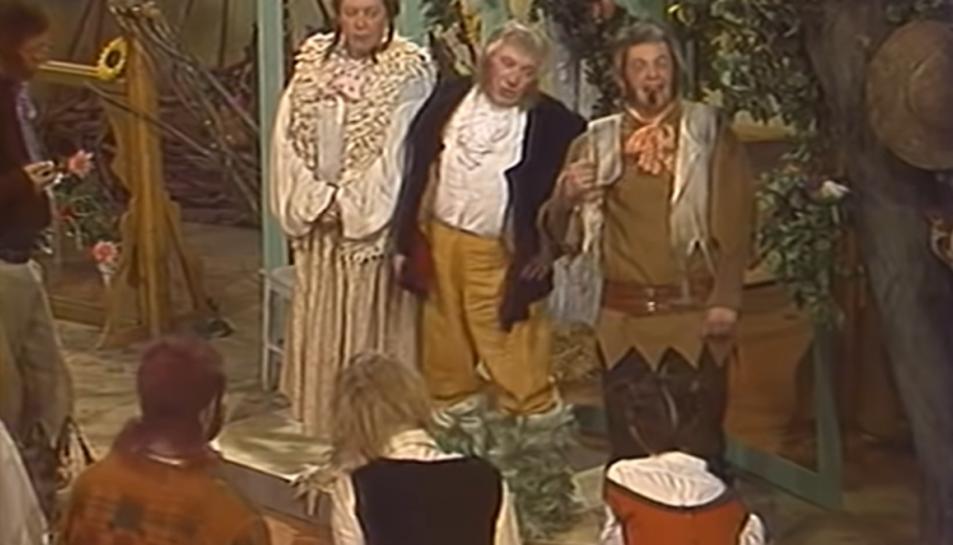 Fotograma de la versió soviètica de la pel·lícula.