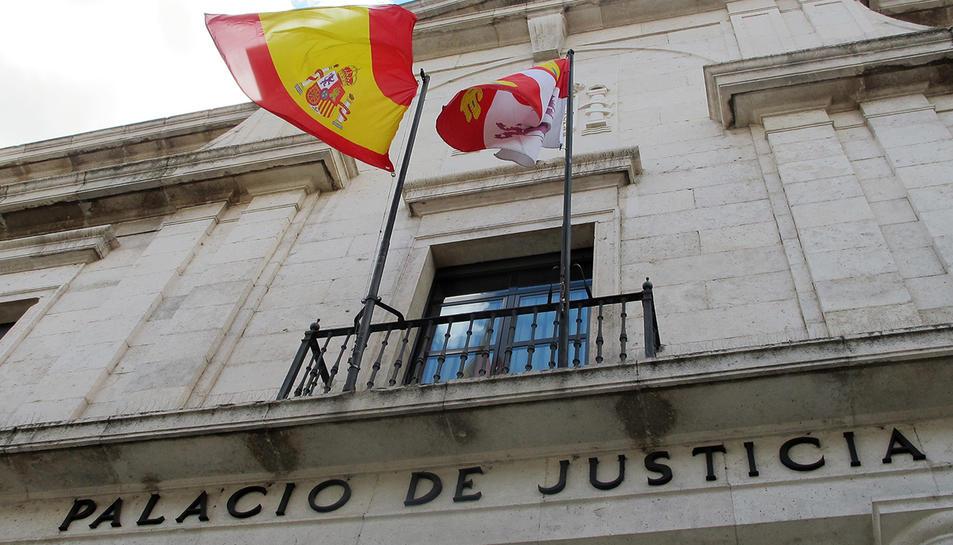 Imatge d'arxiu de l'edifici de l'Audiència Provincial de Valladolid.