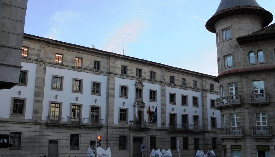 Imatge d'arxiu de l'Audiència Provincial de Pontevedra.