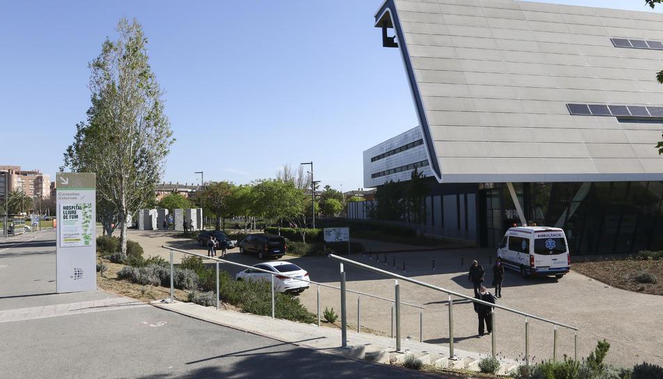 Una imatge d'arxiu de l'exterior del centre sanitari.