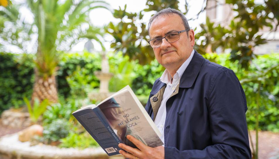 El periodista i escriptor Josep Maria Girona aquest dimecres.