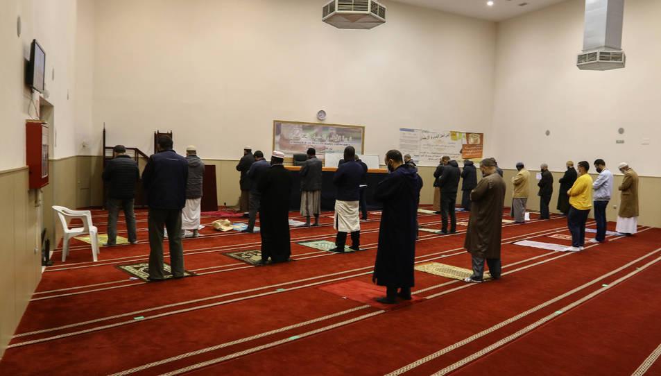 La darrera pregària d'ahir a As-sunnah es va fer a les 20.30 h.